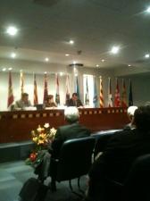 Foto de la Mesa de Clausura Inforsalud 2012