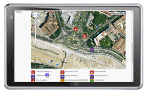Imagen del geoposicionamiento en Tassica IMV Management