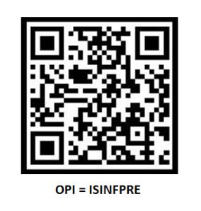 Código QR-Bidi de acceso a cuestionario on line previo al congreso Inforsalud 2012