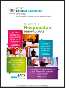 Cartel de ExpoManagement 2012