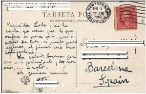 Foto de una antigua tarjeta postal