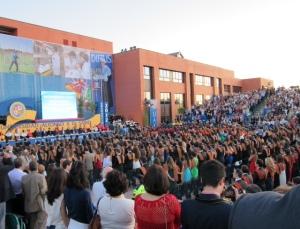 Graduación en la Universidad Alfonso X (UAX)