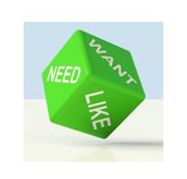 ¿Qué necesitas, quieres o te gusta?