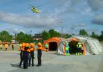 Evacuación aérea en un IMV