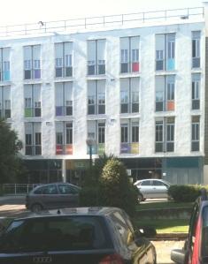 Edificio de la Escuela de Organización Industrial