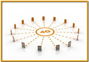 Imagen de una red 4G
