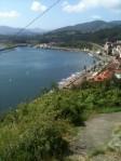 Vista de San Esteban de Pravia y de su puerto