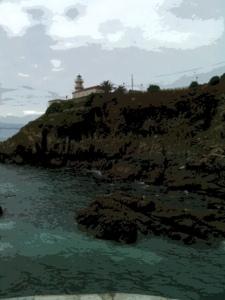 Faro Vidío, Oviñana, Cudillero (Asturias)